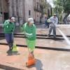 Amplían acciones de Hidrolavado en distintas zonas de la capital potosina