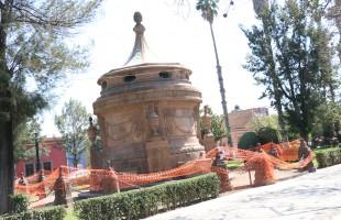 Culmina restauración de la caja del agua: turismo municipal