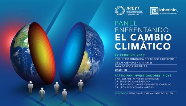IPICYT-museo laberinto de las ciencias organizan panel de cambio climático