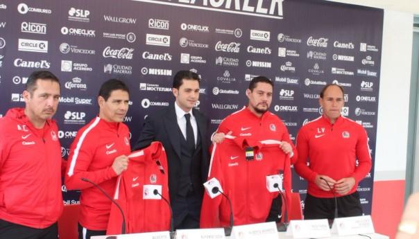 ¡Poncho Sosa! Nuevo DT del @AtletiDeSanLuis; Mañana primera prueba vs Zacatepec