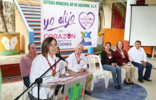 Gira de Lorena Valle Rodríguez en Aquismón