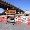 Se amplían cierres parciales en lateral de carretera a Matehuala, tránsito y policía vial apoya en labores preventivas y de orientación en trabajos de la CEA