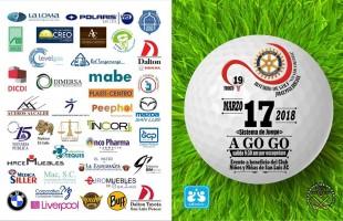 """Todo listo para el 19o torneo de golf a go go """"Jorge Puga Arriaga"""" organizado por el club rotario San Luis colonial"""