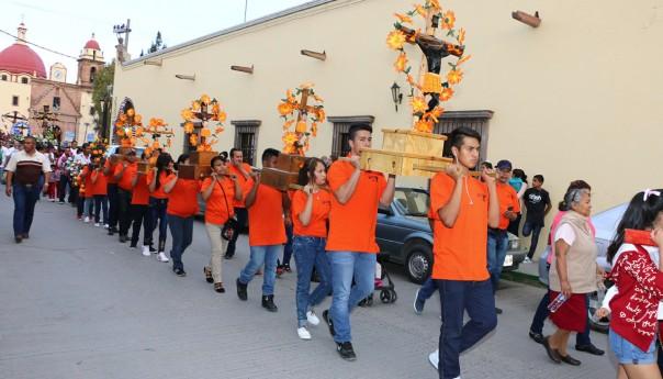 """En villa de pozos se esperan 15 mil visitantes por la """"Procesión De Los Cristos"""""""