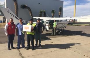 Traen vía aérea riñones al hospital central para implantarse en pacientes potosinos