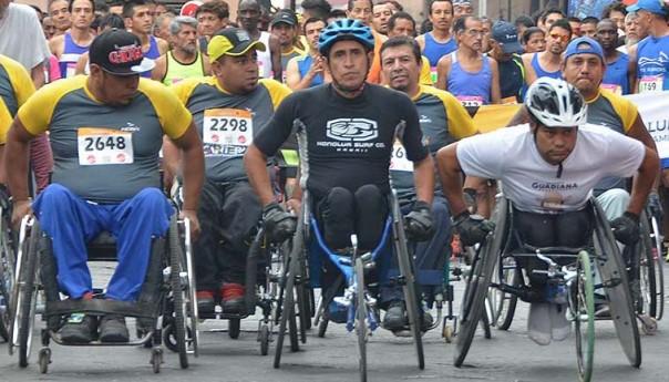 """DIF capitalino invita a actividades de atletismo """"por una discapacidad sin límite"""""""