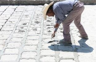 Se acondicionan calles del centro histórico para el medio maratón de la cantera