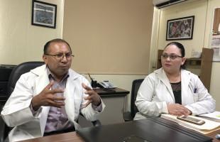 Recién nacida con órganos fuera del abdomen fue operada satisfactoriamente por médicos del IMSS en Yucatán