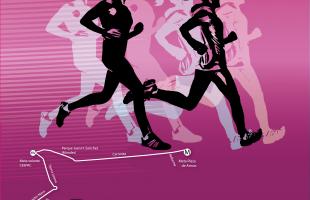 Presentan tercer carrera atlética camina, trota y corre por la democracia
