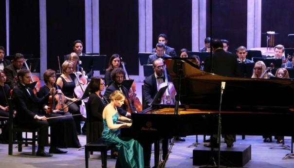 Hanna Bachmann hizo vibrar con Beethoven al Teatro de la Pazcon una ejecución impecable, le valió la ovación de pie en ambas presentaciones