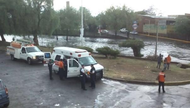 Se refuerza coordinación interinstitucional ante alerta por lluvias en SLP