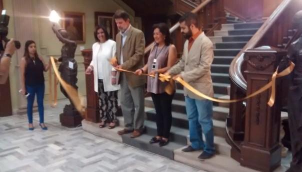 Se inaugura Lecturas de Vicente Rojo en el Museo Francisco Cossío