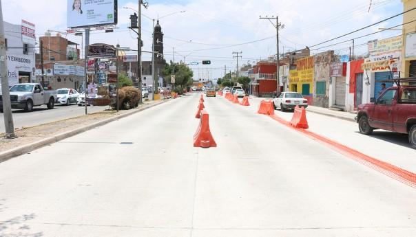 A punto de concluir obras en avenidas importantes de la ciudad