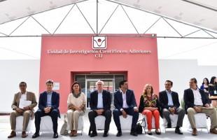 José Narro Robles, inauguró esta unidad en el estado de Nayarit, la cual tuvo una inversión de 35 millones de pesos