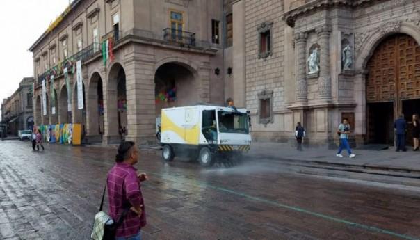 Se retiró del centro histórico una tonelada y media de basura con motivo de las fiestas patrias