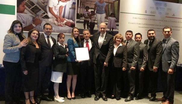 IMSS SLP obtiene reconocimiento nacional por implementar sistema de calidad en unidad médica No. 45
