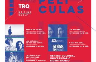 UASLP prepara para el mes de noviembre 1er Encuentro de Cine