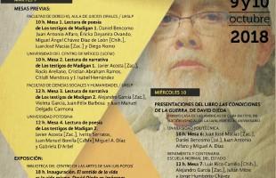 Secretaría de Cultura conmemora el segundo aniversario luctuoso del escritor potosino David Ojeda