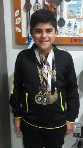 LUIS GUSTAVO, un triatlonista potosino con futuro por delante, en el mundo del deporte.