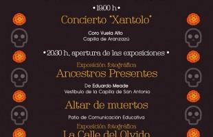 Celebración del día de muertos en el museo regional potosino